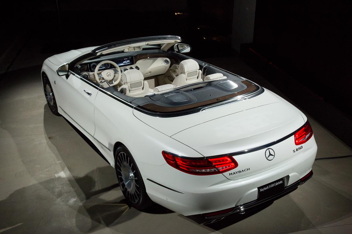 2017 Mercedes-Maybach S650 Cabriolet Review: First Impressions