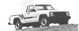 1991 Jeep Comanche