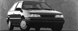 1991 Mitsubishi Precis