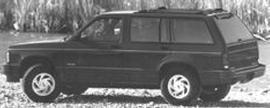 1991 Oldsmobile Bravada