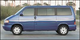 2001 Volkswagen EuroVan