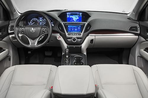 2015 Acura Mdx Black   200  Interior and Exterior Images