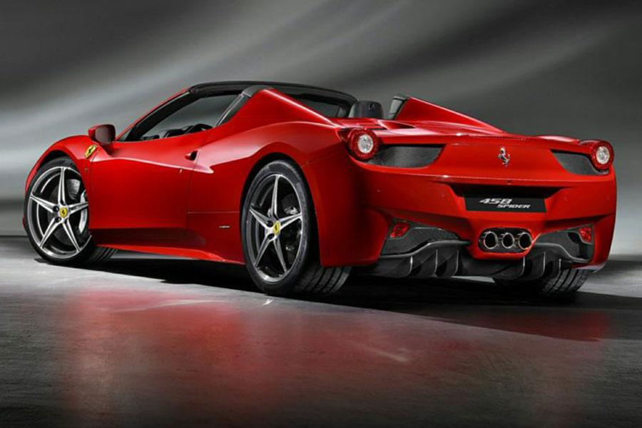 ferrari 458 spider price review pics specs mileage html autos weblog. Black Bedroom Furniture Sets. Home Design Ideas