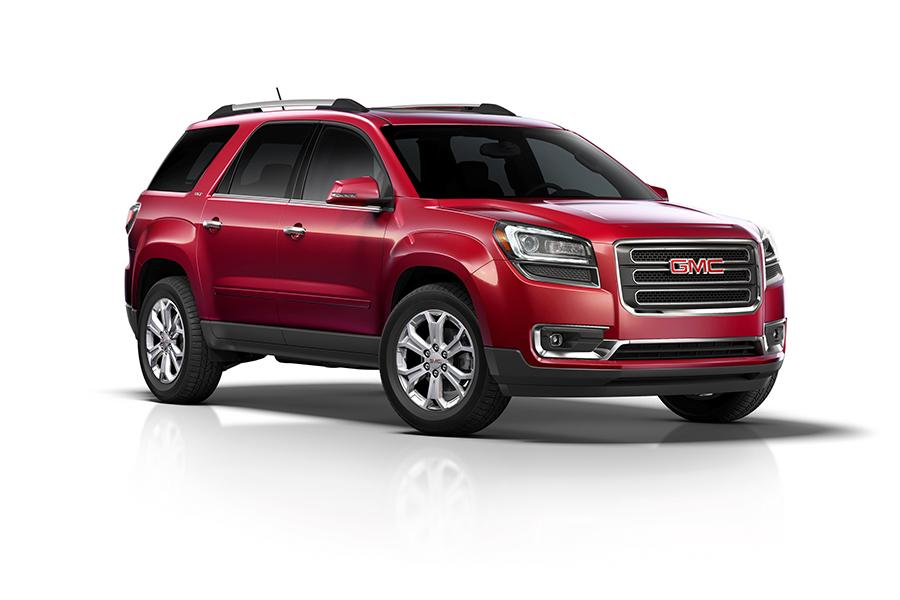 2016 gmc acadia specs  pictures  trims  colors