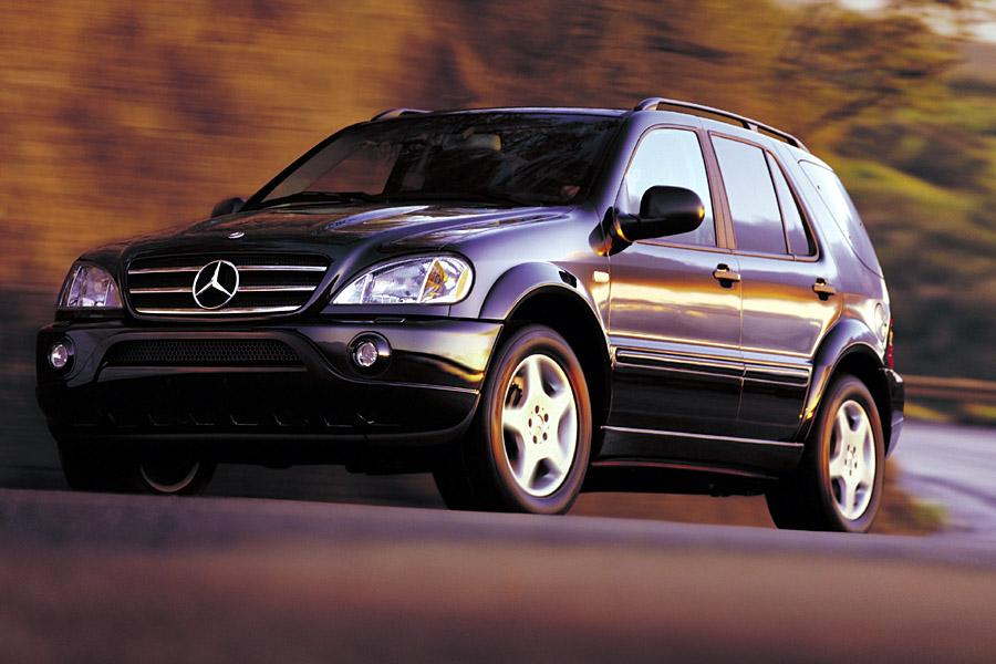 2001 mercedes benz m class reviews specs and prices for Mercedes benz ml350 price