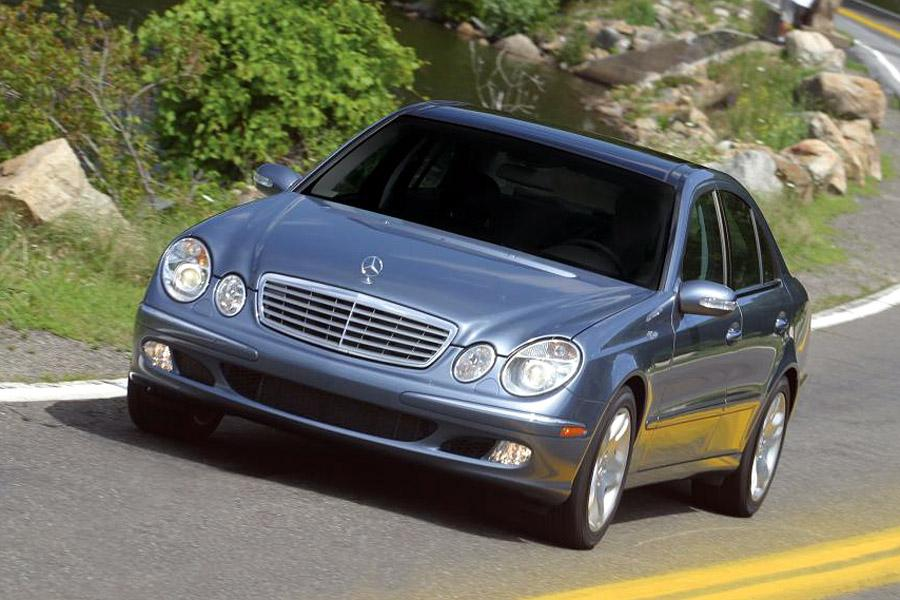 2003 mercedes benz e class specs pictures trims colors. Black Bedroom Furniture Sets. Home Design Ideas