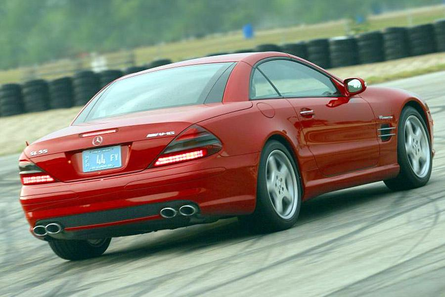 2003 mercedes benz sl class reviews specs and prices for Mercedes benz sl500 price