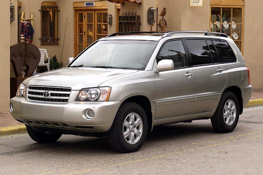2002 Toyota Highlander Reviews Specs And Prices Cars Com