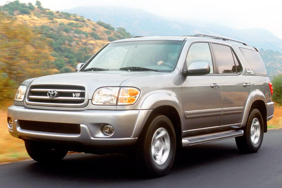 2002 toyota sequoia reviews specs and prices. Black Bedroom Furniture Sets. Home Design Ideas