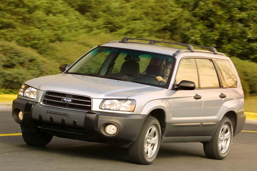 2004 Subaru Forester Reviews Specs And Prices Cars Com