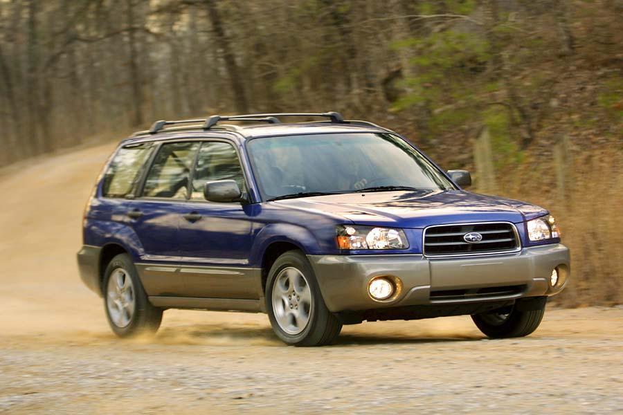 2004 Subaru Forester Reviews Specs And Prices Cars Com