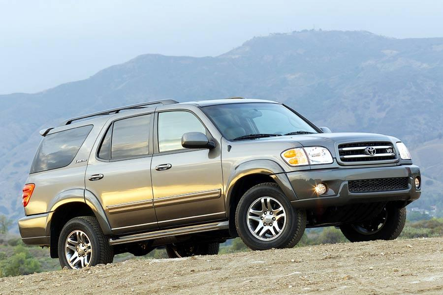 2004 toyota sequoia reviews specs and prices. Black Bedroom Furniture Sets. Home Design Ideas