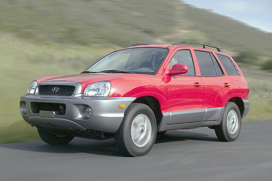 2004 hyundai santa fe specs pictures trims colors. Black Bedroom Furniture Sets. Home Design Ideas