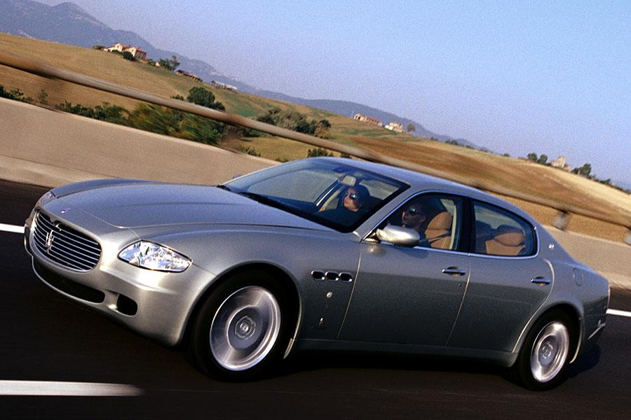 2005 maserati quattroporte reviews specs and prices. Black Bedroom Furniture Sets. Home Design Ideas