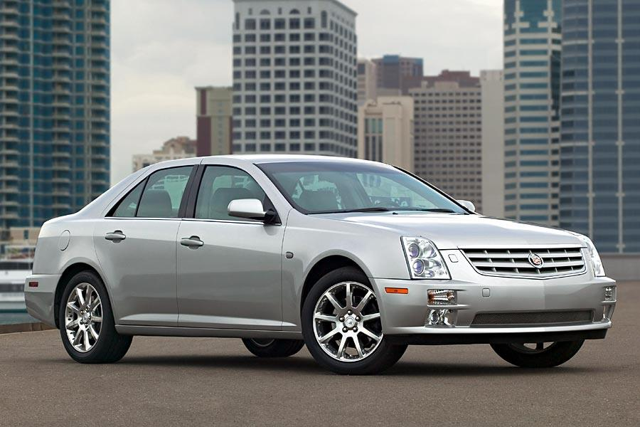 2005 cadillac sts reviews specs and prices. Black Bedroom Furniture Sets. Home Design Ideas