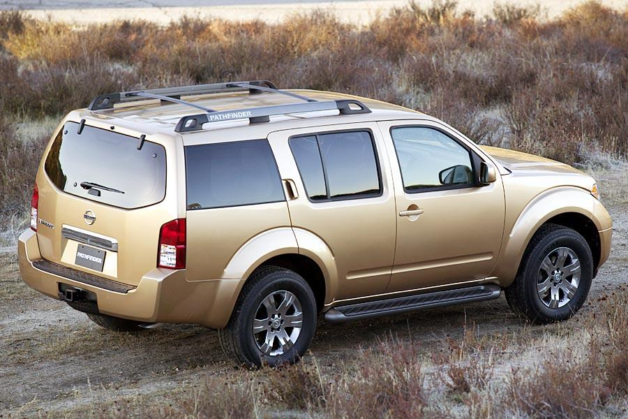 2005 nissan pathfinder reviews specs and prices. Black Bedroom Furniture Sets. Home Design Ideas