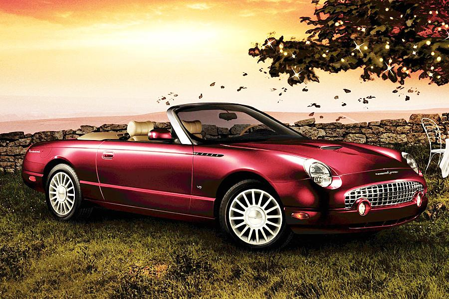 2005 ford thunderbird specs pictures trims colors. Black Bedroom Furniture Sets. Home Design Ideas