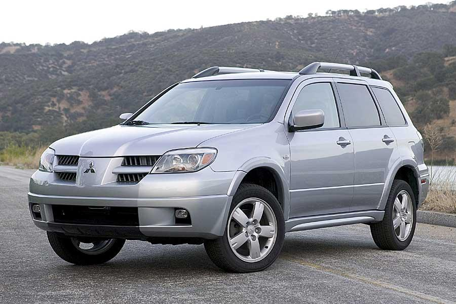 2005 mitsubishi outlander reviews specs and prices. Black Bedroom Furniture Sets. Home Design Ideas