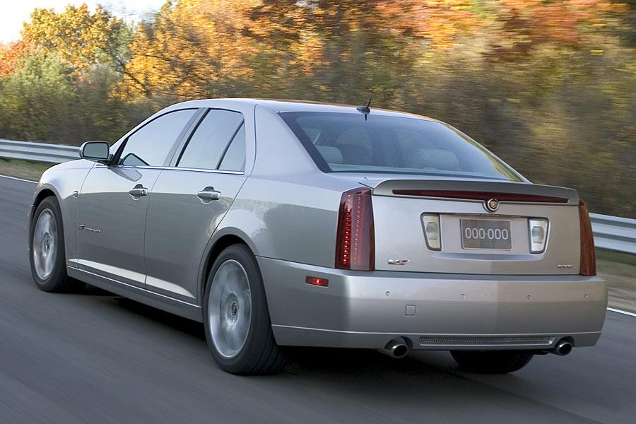 2006 cadillac sts reviews specs and prices. Black Bedroom Furniture Sets. Home Design Ideas