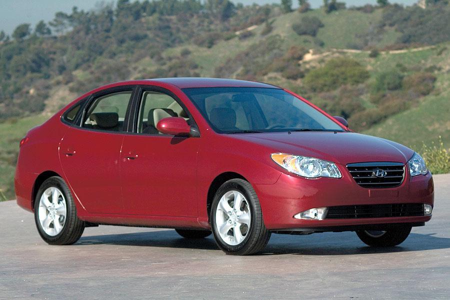 on 2001 Hyundai Elantra