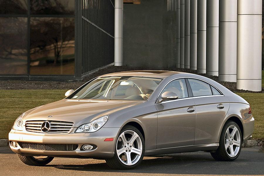 2007 mercedes benz cls class reviews specs and prices for Mercedes benz cls 350 price