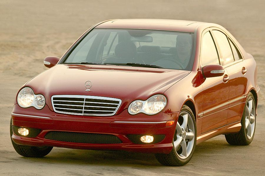 2007 mercedes benz c class reviews specs and prices. Black Bedroom Furniture Sets. Home Design Ideas