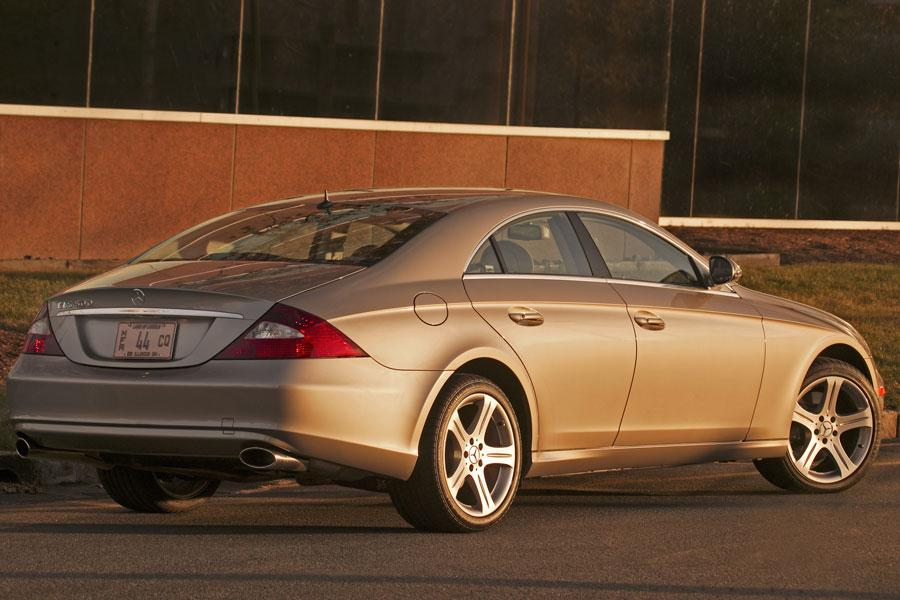 2006 mercedes benz cls class reviews specs and prices. Black Bedroom Furniture Sets. Home Design Ideas