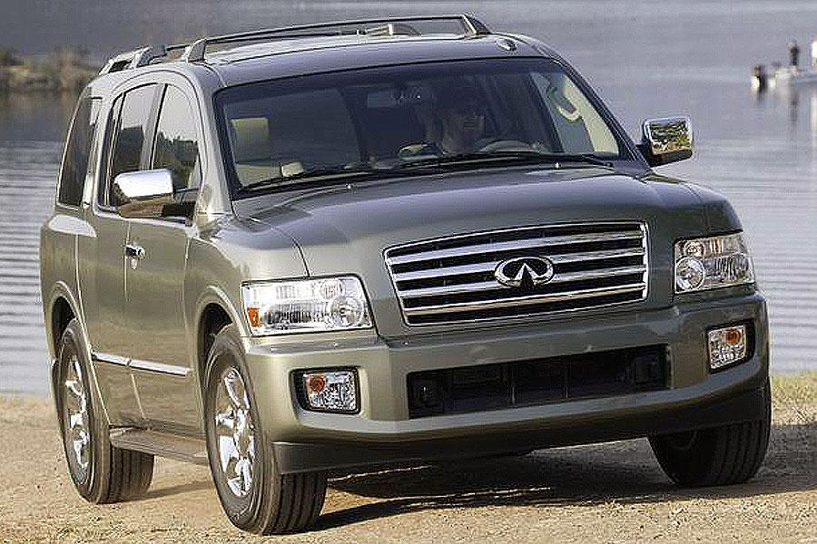 2007 infiniti qx56 reviews specs and prices. Black Bedroom Furniture Sets. Home Design Ideas