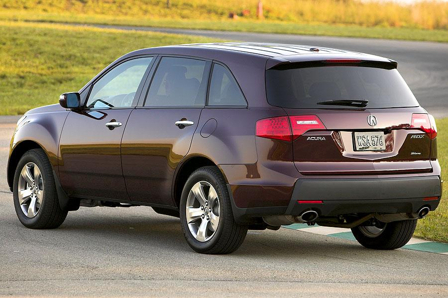 2007 acura mdx reviews specs and prices. Black Bedroom Furniture Sets. Home Design Ideas