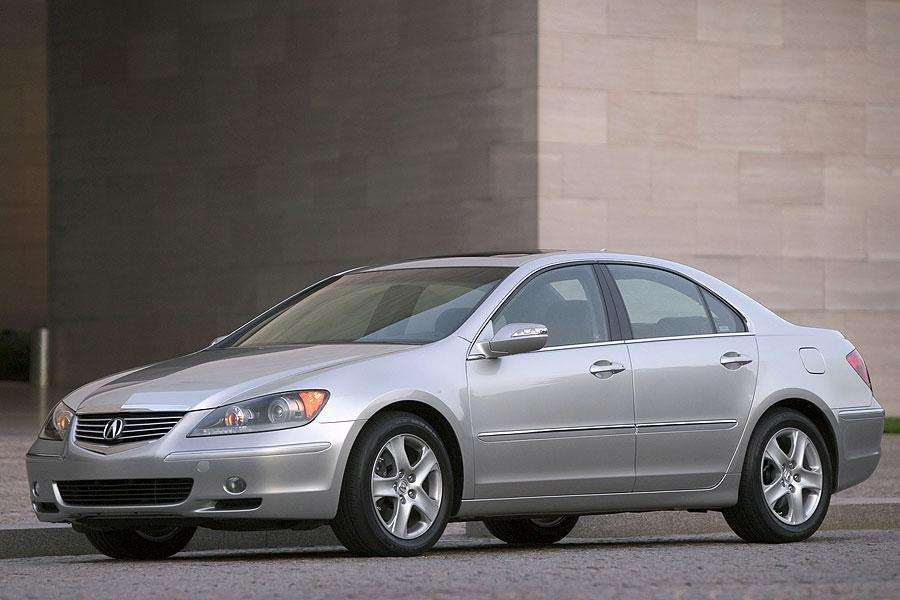 2007 acura rl reviews specs and prices. Black Bedroom Furniture Sets. Home Design Ideas