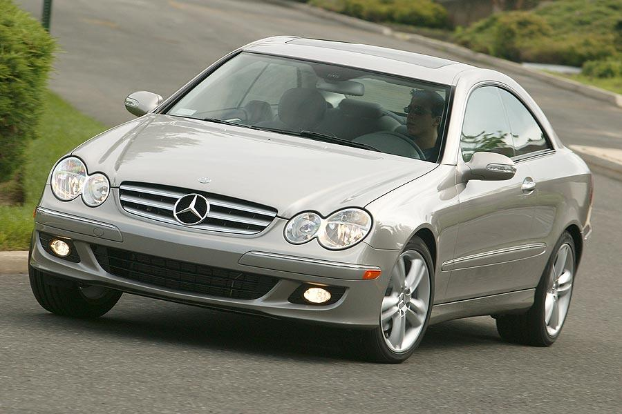 2007 mercedes benz clk class reviews specs and prices. Black Bedroom Furniture Sets. Home Design Ideas