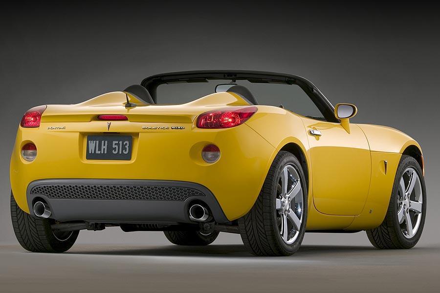 2007 Pontiac Solstice Specs Pictures Trims Colors Cars Com