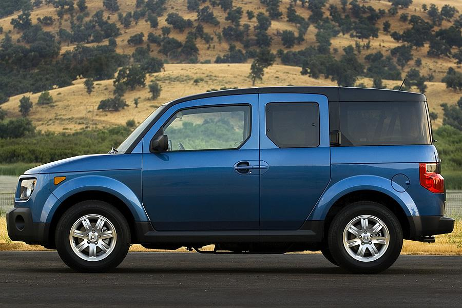 2007 honda element reviews specs and prices for Honda element dimensions