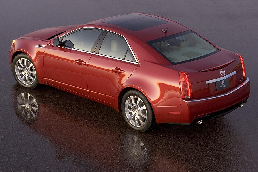 2008 Cadillac Cts Reviews Specs And Prices Cars Com