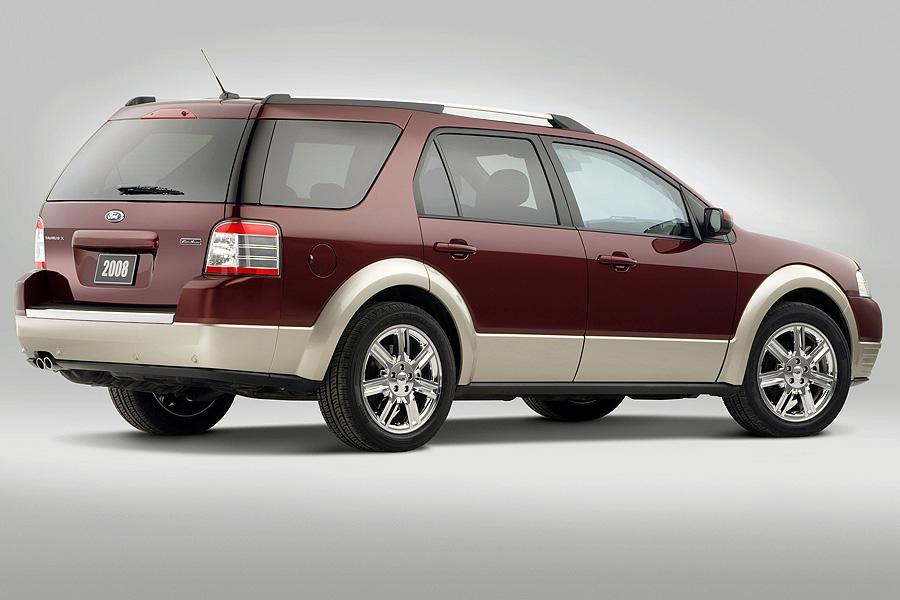2008 Ford Taurus X Specs Pictures Trims Colors Cars Com