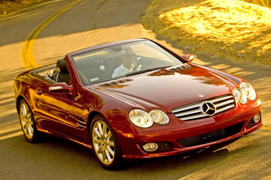 2008 mercedes benz sl class reviews specs and prices for Mercedes benz 2008 price