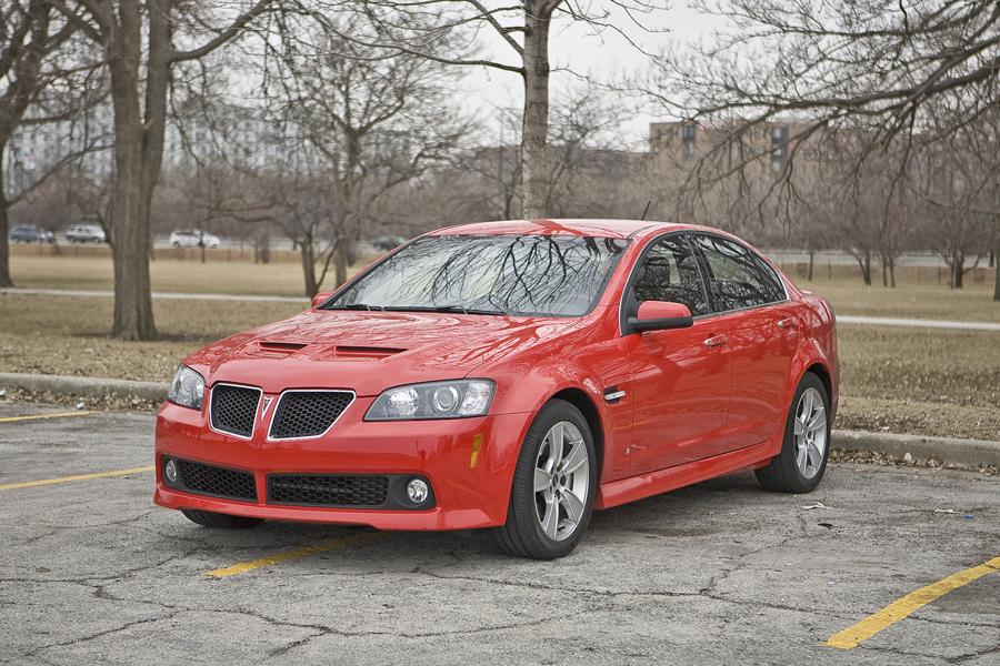 Chevrolet Latest Models >> Pontiac G8 Sedan Models, Price, Specs, Reviews | Cars.com