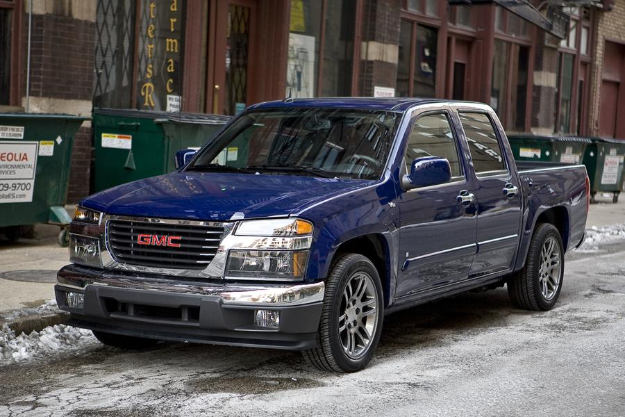 2009 gmc canyon reviews specs and prices. Black Bedroom Furniture Sets. Home Design Ideas