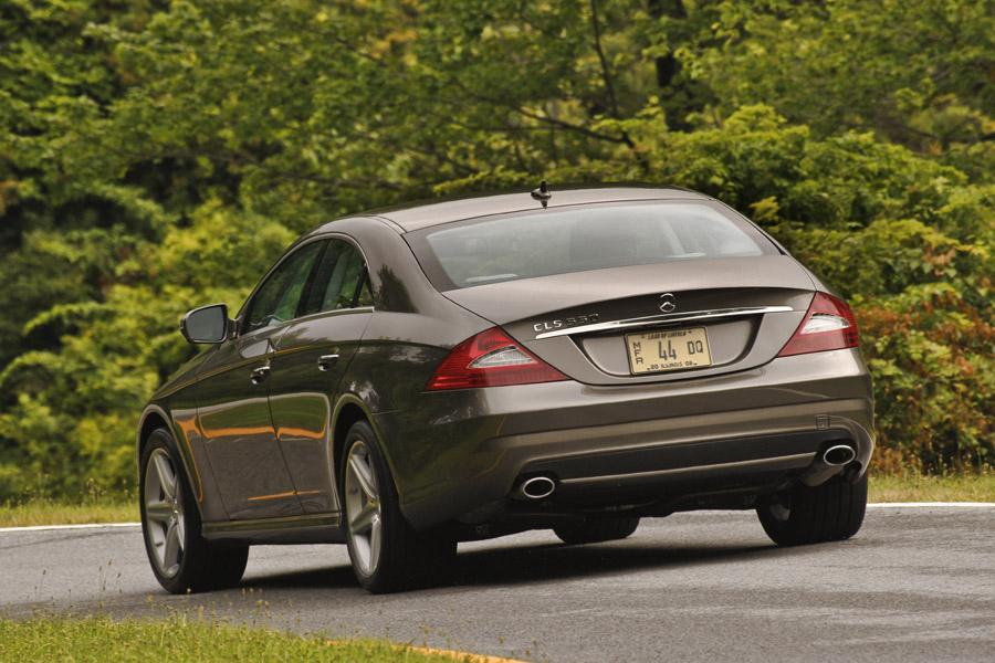 2010 mercedes benz cls class reviews specs and prices. Black Bedroom Furniture Sets. Home Design Ideas