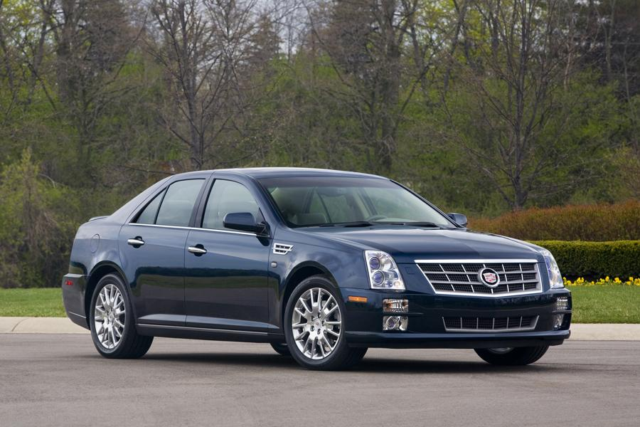 Cadillac Sts Sedan Models Price Specs Reviews Cars Com