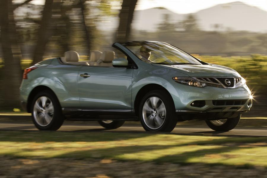 Nissan Murano crosscabriolet 2012 on murano engine