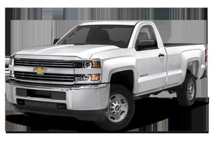 """2015 Chevrolet Silverado 2500HD 4x2 Regular Cab 8' box 133.6"""" WB"""