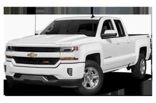 "2019 Chevrolet Silverado 1500 4x2 Double Cab 6.6' box 143.5"" WB"