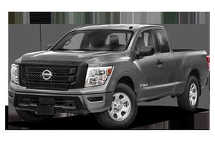 "2021 Nissan Titan 4dr 4x2 King Cab 6.3' box 139.8"" WB"