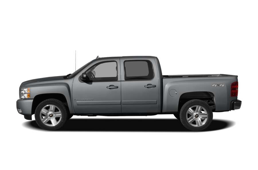 2008 Chevrolet Silverado 1500 exterior side view