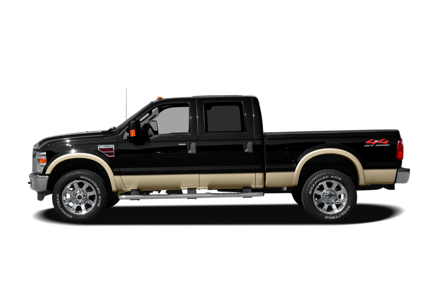 2008 Ford F-250 exterior side view