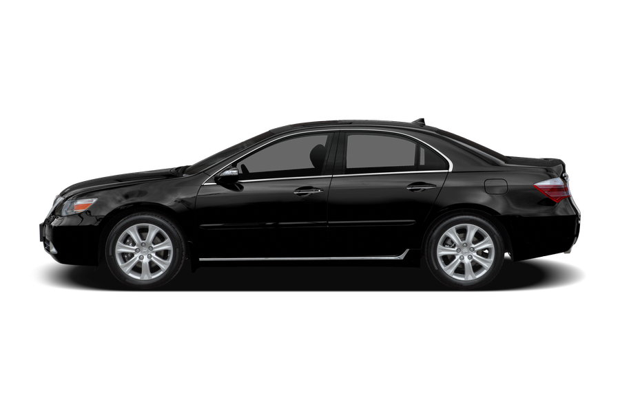 2009 Acura RL exterior side view