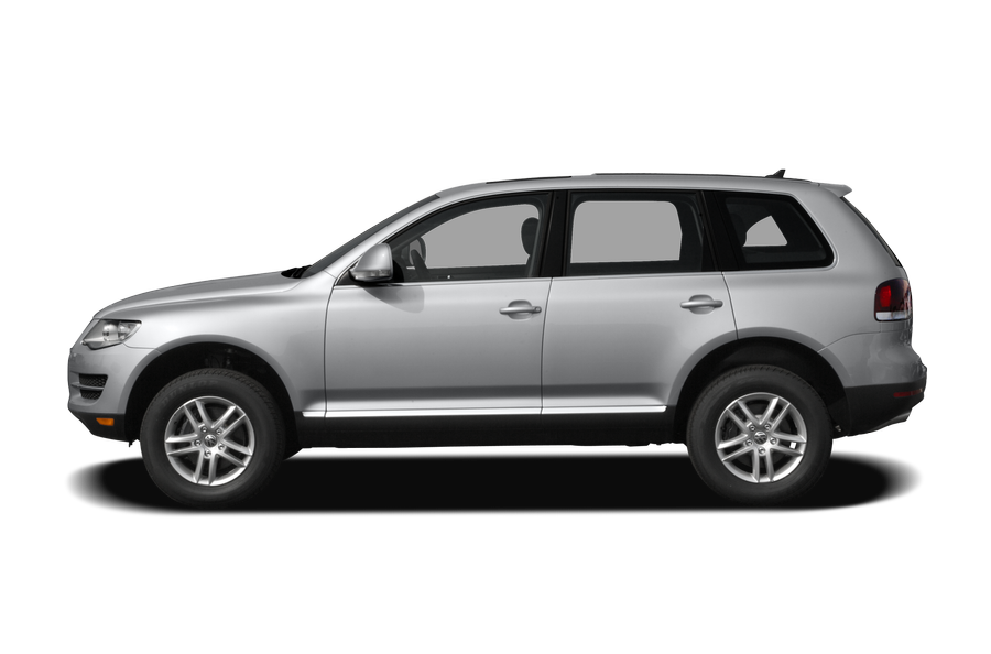 2009 Volkswagen Touareg 2 exterior side view