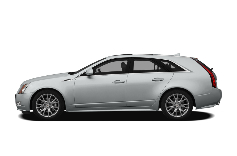 2010 Cadillac CTS exterior side view