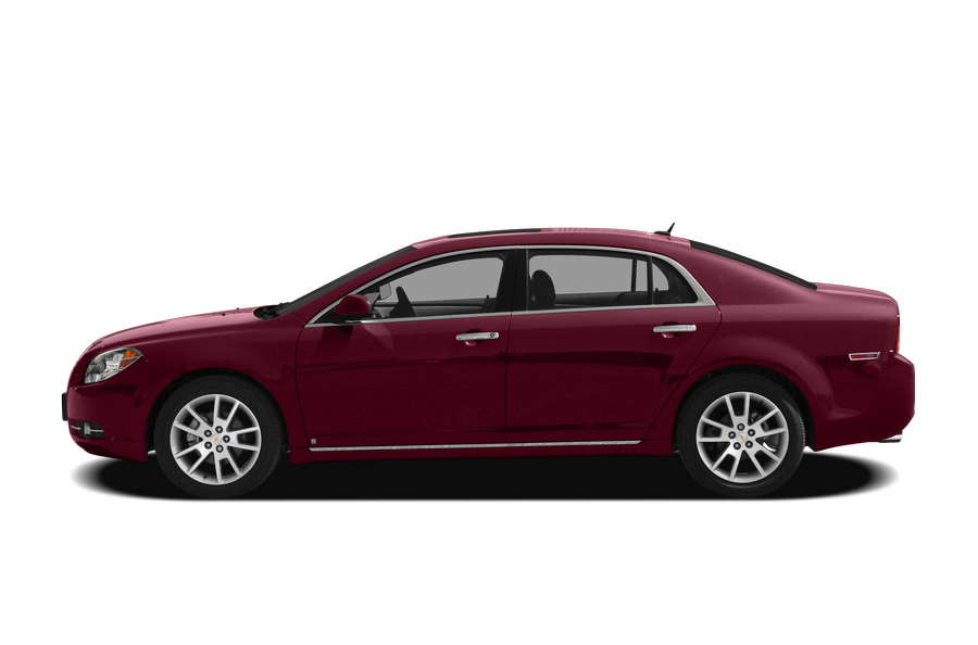 2010 Chevrolet Malibu exterior side view